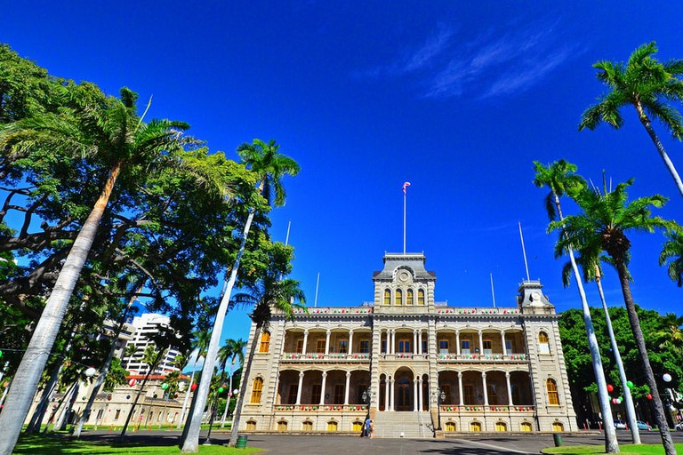 Iolani Palace | © Edmund Garman/Flickr