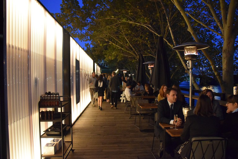 Arbory Bar & Eatery's riverfront views