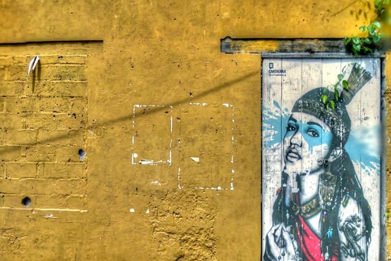 Getsemani is famous for its street art scene