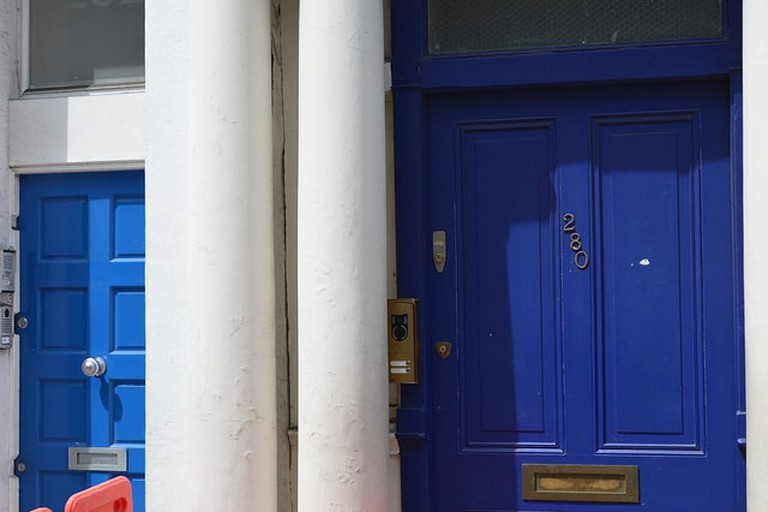Notting Hill Blue Doors