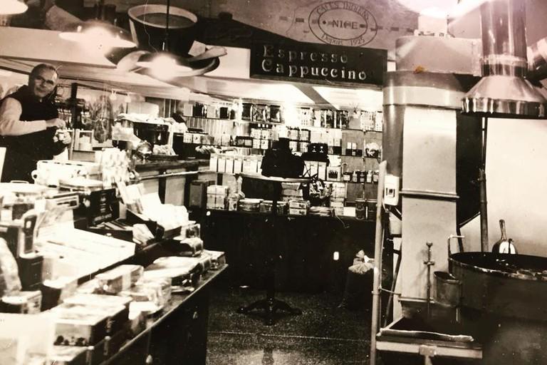 The Brulerie des Cafés Indien in Nice, France