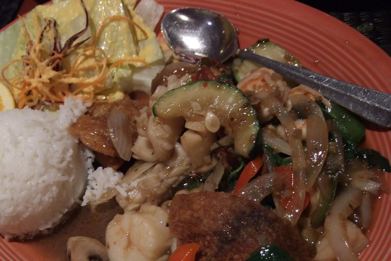 Seafood combo at Montien Thai Restuarant