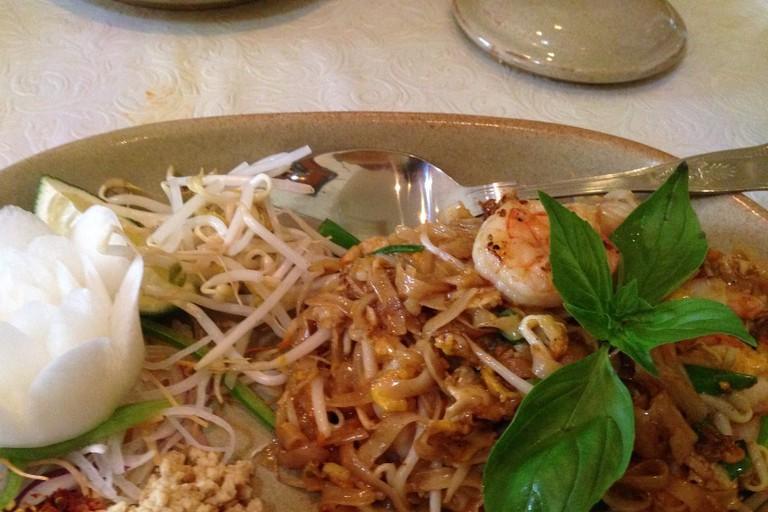 A flavorful Thai meal