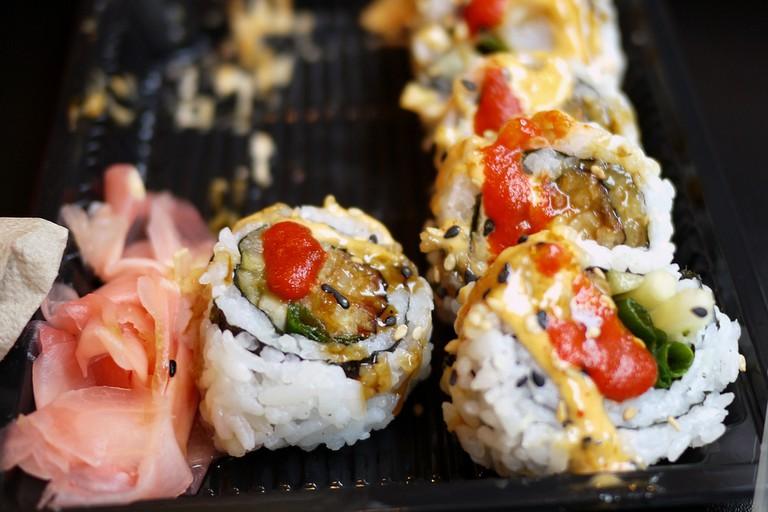 Innovative sushi