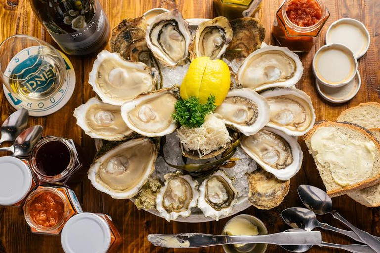 Oysters at Rodney's Oyster House