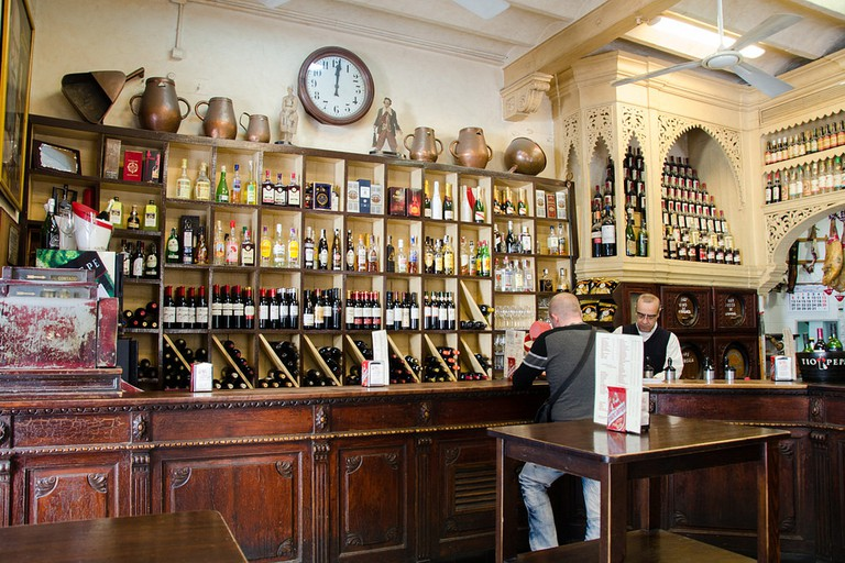 Casa Morales is one of the oldest family-run bars in Seville