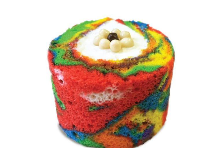 Besfren's Rainbow Cake Roll