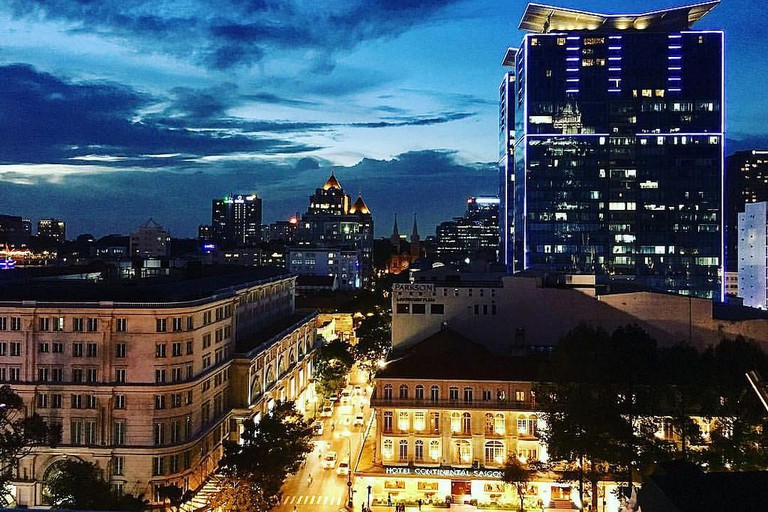 Twilight at Saigon Saigon Bar