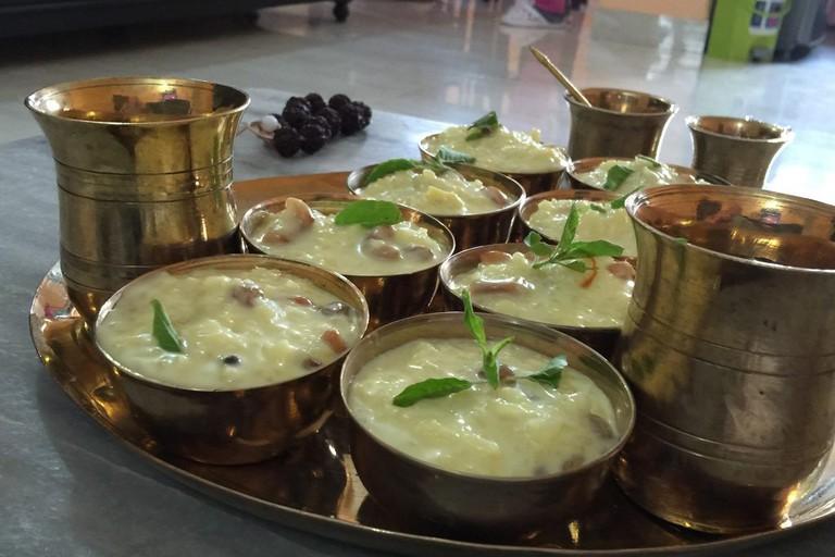 Tasty Food atRadha Govinda