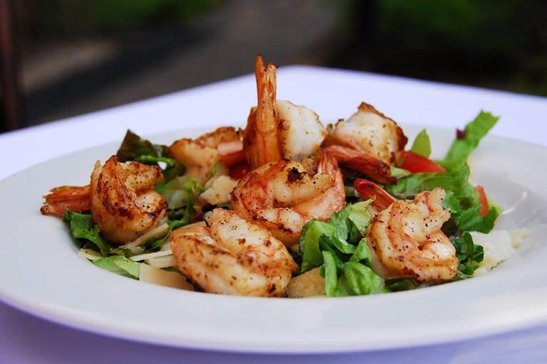 The perfect shrimp scampi