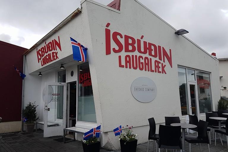 Ísbúðin Laugalæk, Reykjavik