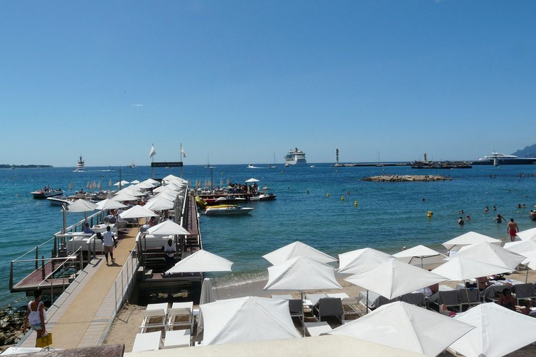 Cannes has some lovely romantic beaches to while away the days