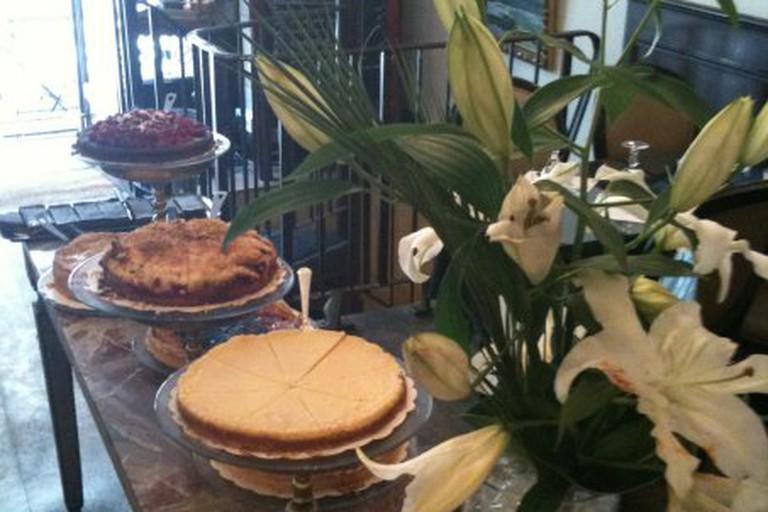 L'Autre Salon de Thé is famous for its home-made cakes and pastries