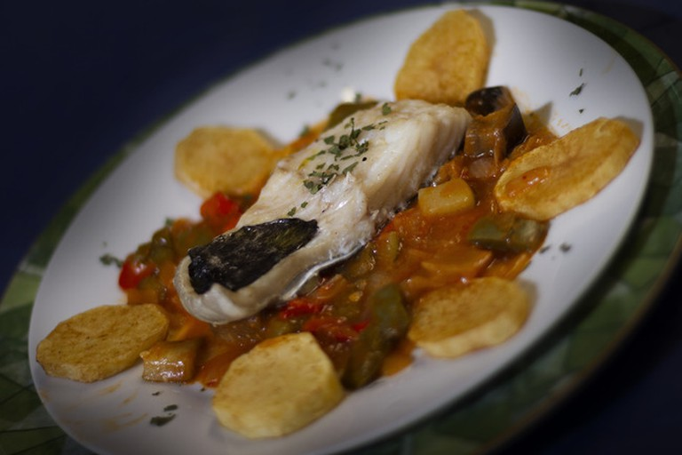 Maria Auxiliadora specialises in cod dishes
