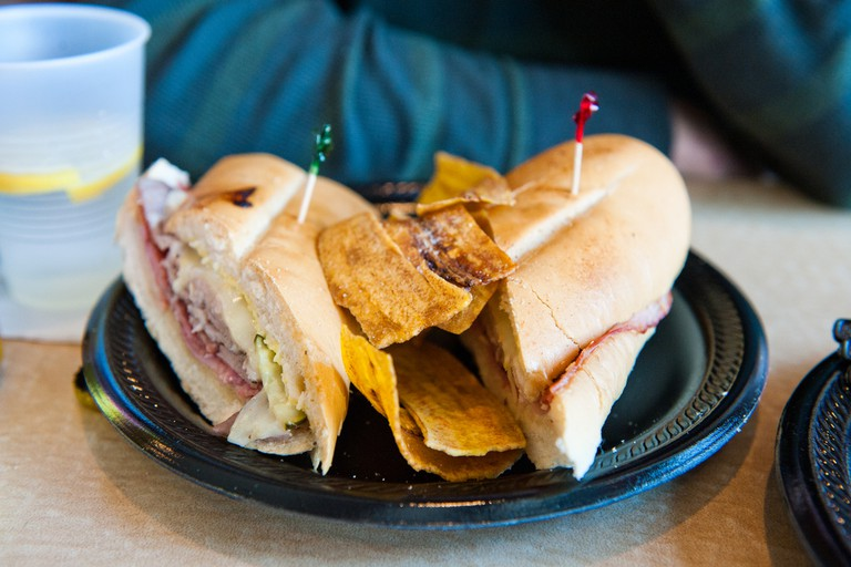 Sink your teeth into a tasty Cuban sandwich