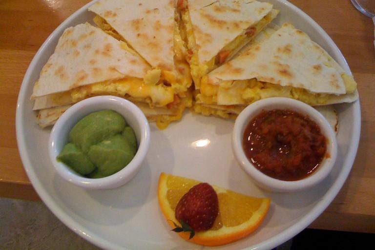 Breakfast at Café Kaila