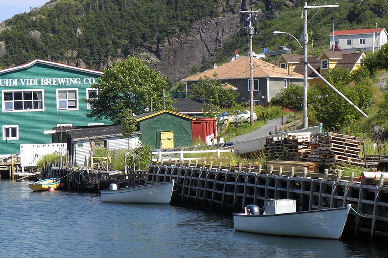 Quidi Vidi's waterfront location