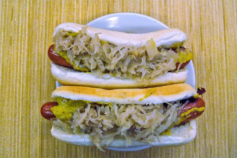 Katz's hot dogs