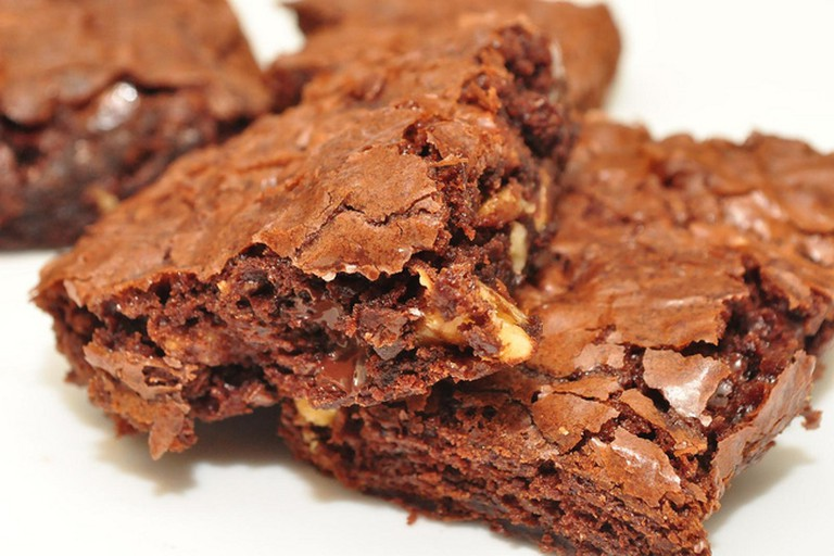 Head to The Cork & Fork for a mean chocolate brownie