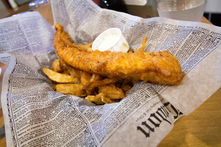 Try the fish and chips at Bistro 292; sstrieu