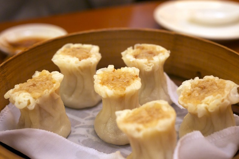 Delicious dumplings at Din Tai Fung