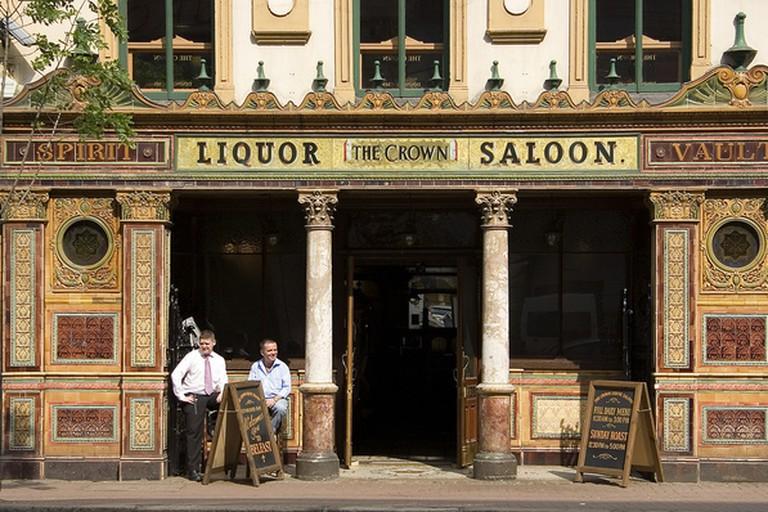 The Crown Bar, Belfast, Northern Ireland