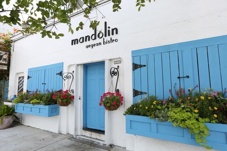 Mandolin's exterior