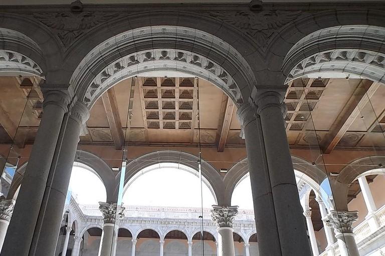 Inside the Alcázar de Toledo