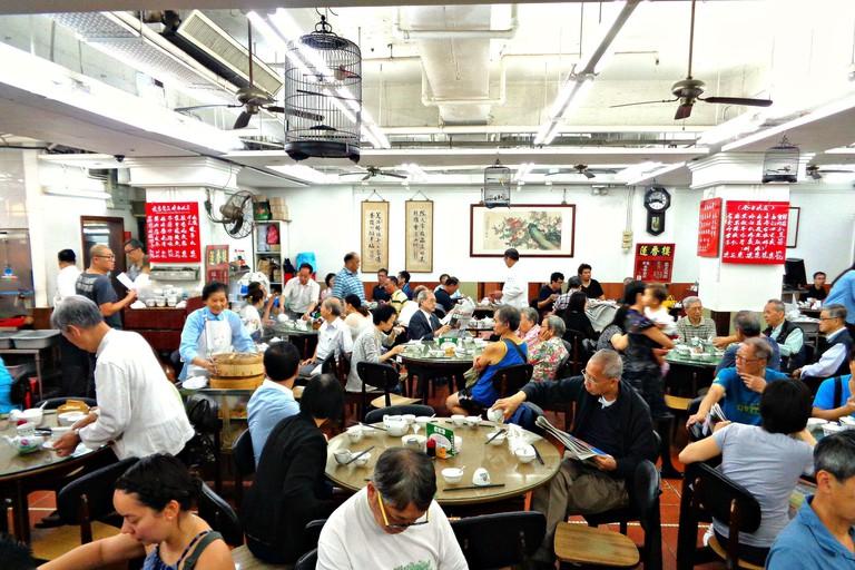 Lin Heung Tea House Hong Kong Dim Sum