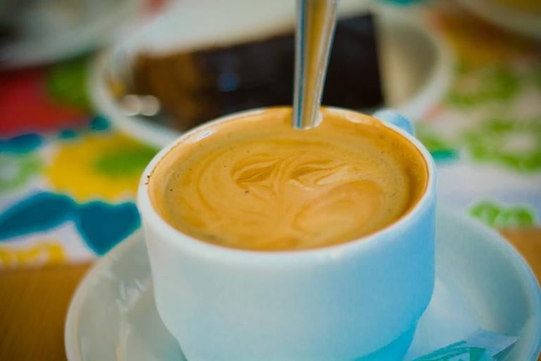 A Del Valle Double Espresso