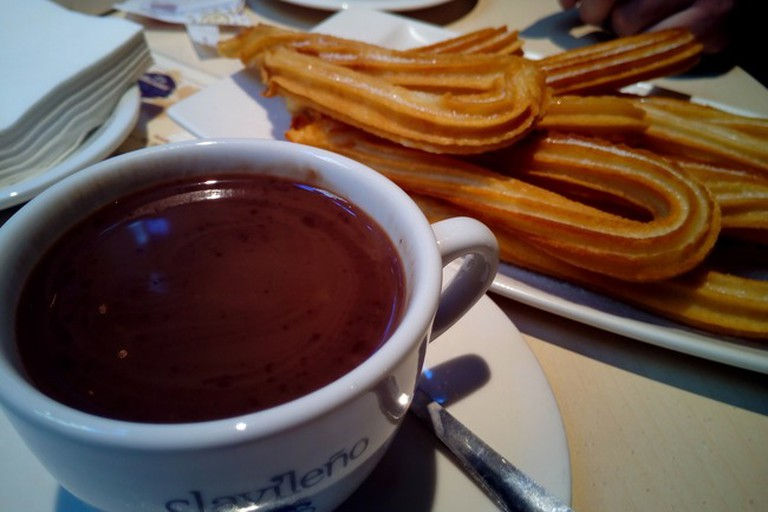 Churros are the house speciality at La Marina
