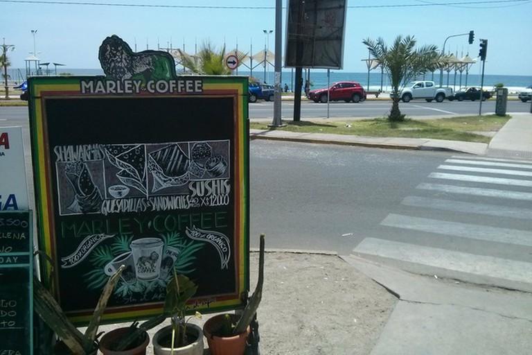 Marley Coffee Firdaus' Beach View
