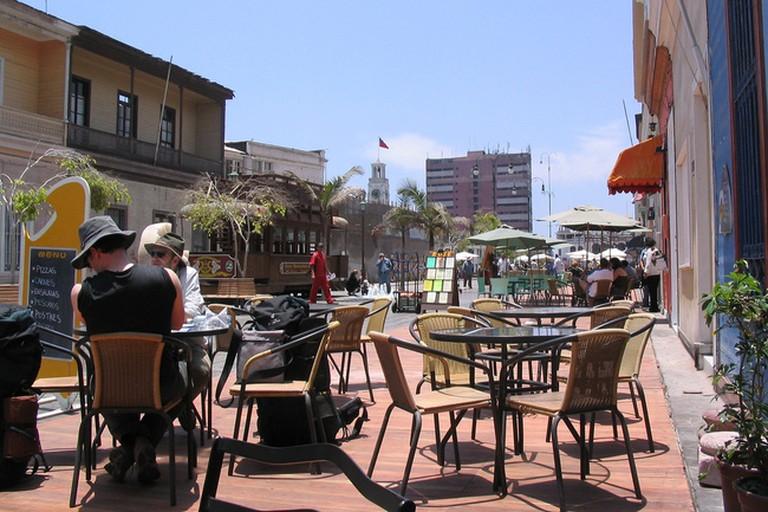 Baquedano Boulevard Cafe Patio
