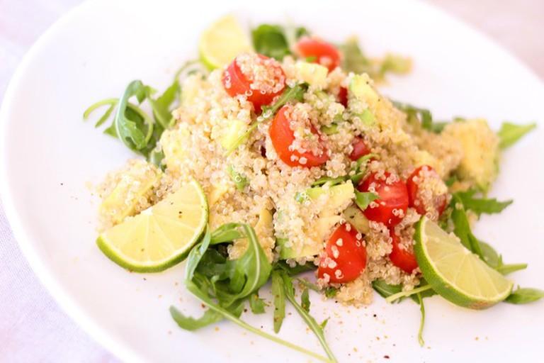 Arsenio Manila does a mean quinoa salad