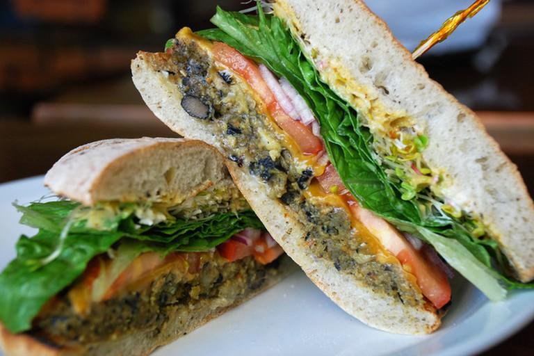 Fancy a veggie burger? Head to Rosario Uno