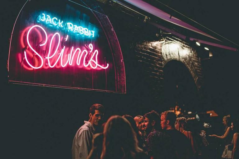 Jack Rabbit Slim's neon sign