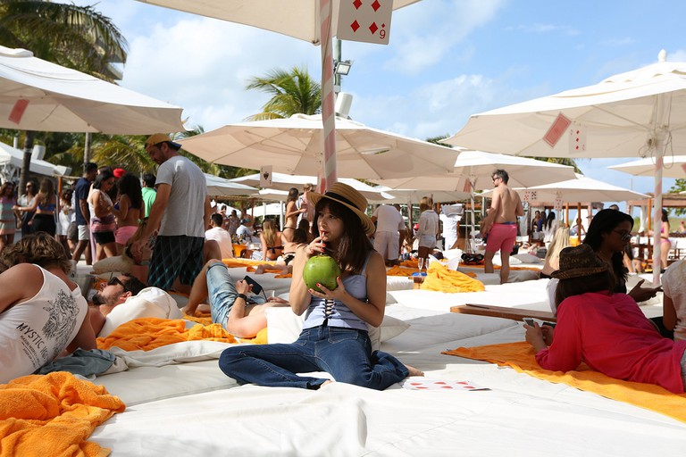 Nikki Beach during the day