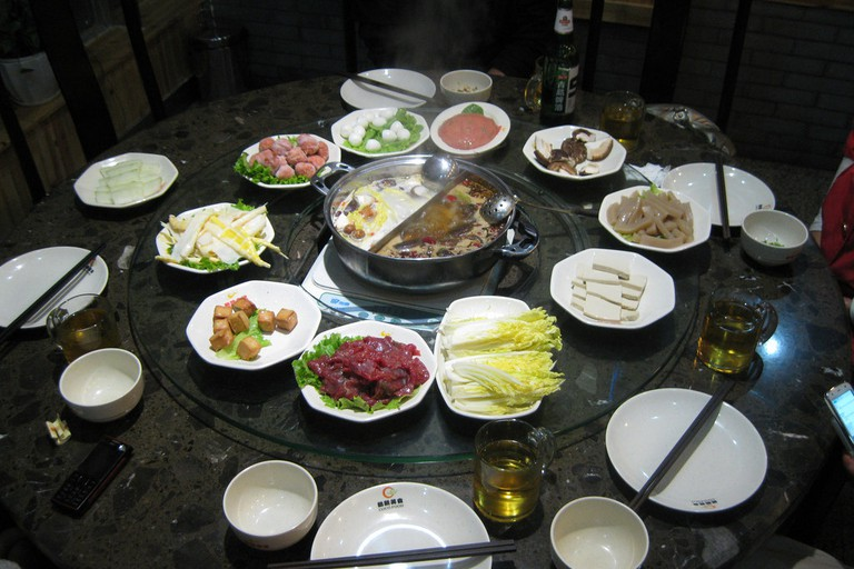 Typical hotpot