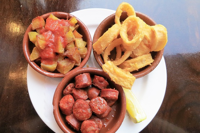 Enjoy homemade tapas as Bar Guerola