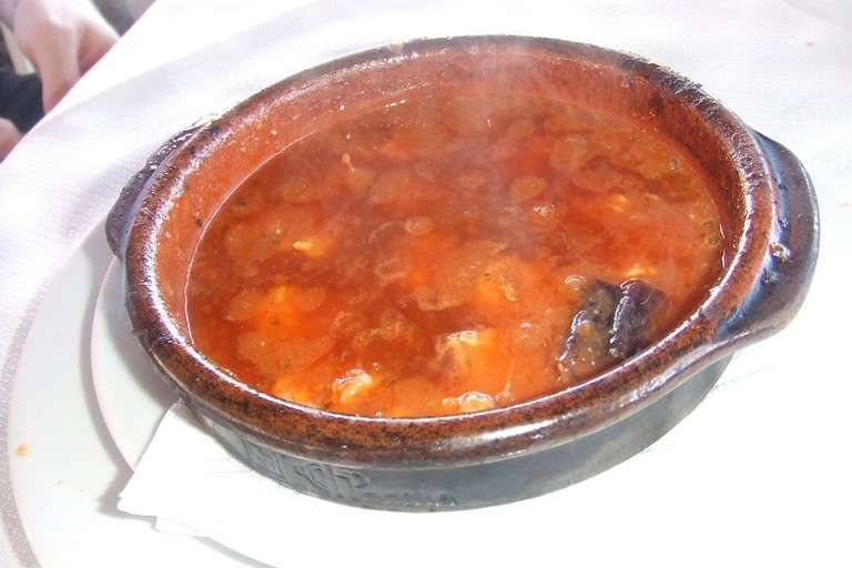 Try the gambas al pil pil (spicy prawns) at Bar El Estrecho