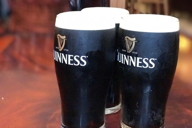 Mingle with the expats over a pint of Guinness at The Claddagh