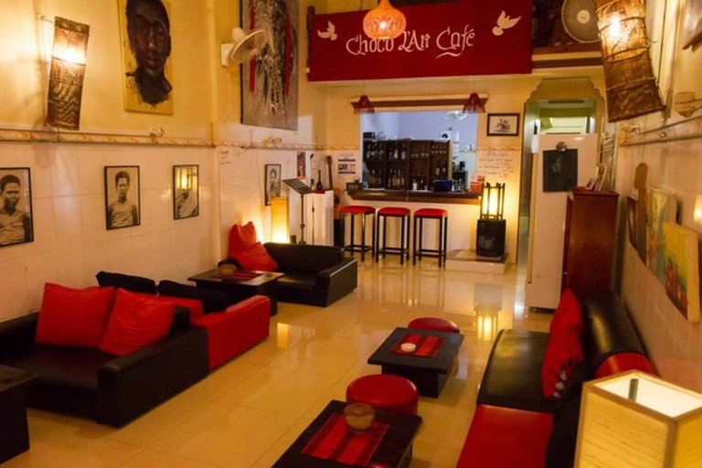 Choco L'Art Café, Krong Battambang