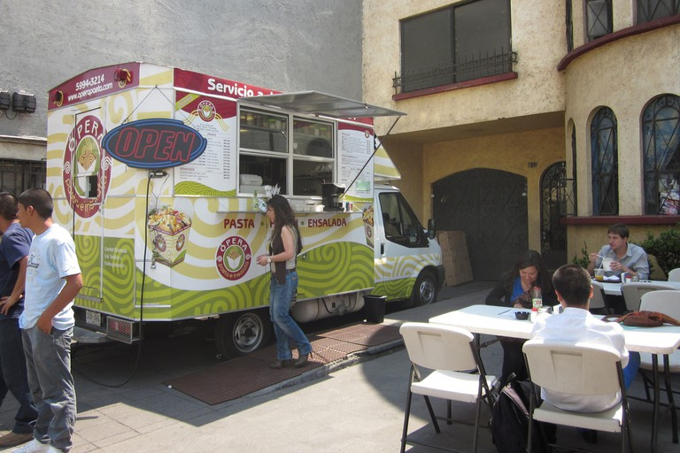 Some of the best food on the island comes from food trucks