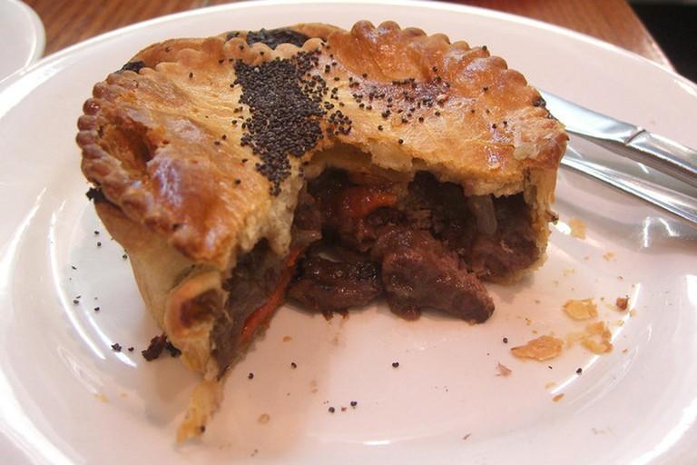 Chunky beef pie