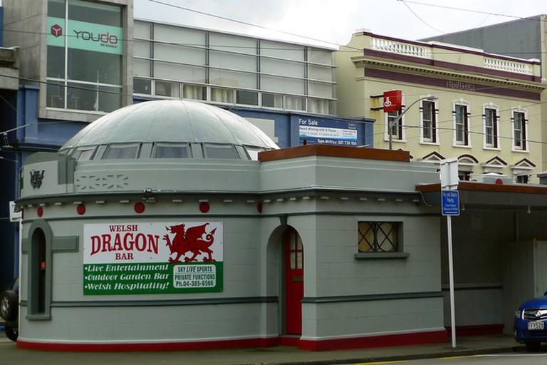 The Welsh Dragon Bar