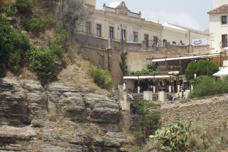 The terraces of Hotel Don Miguel