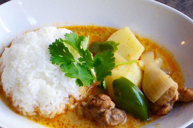Tasty massaman curry