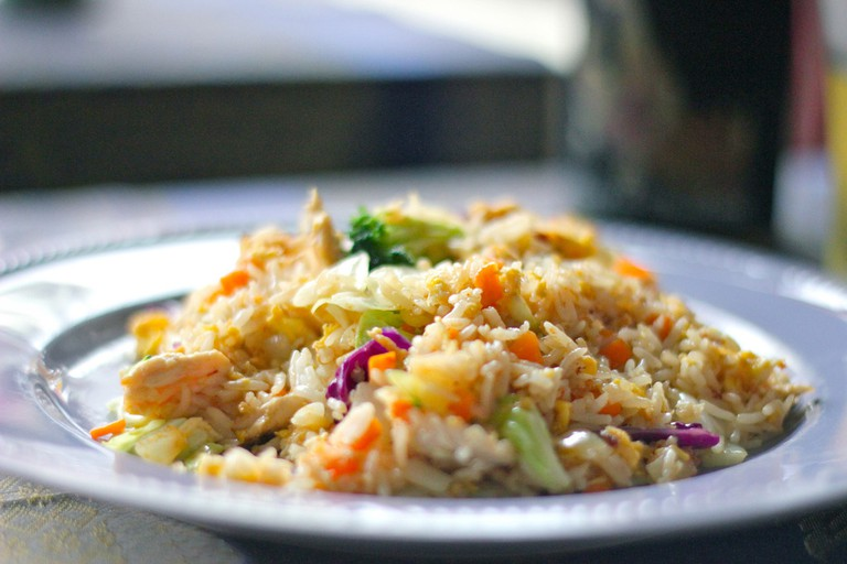 Simple yet tasty fried rice