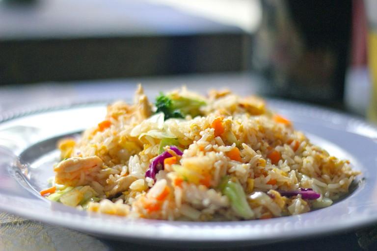 Simple yet tasty fried rice