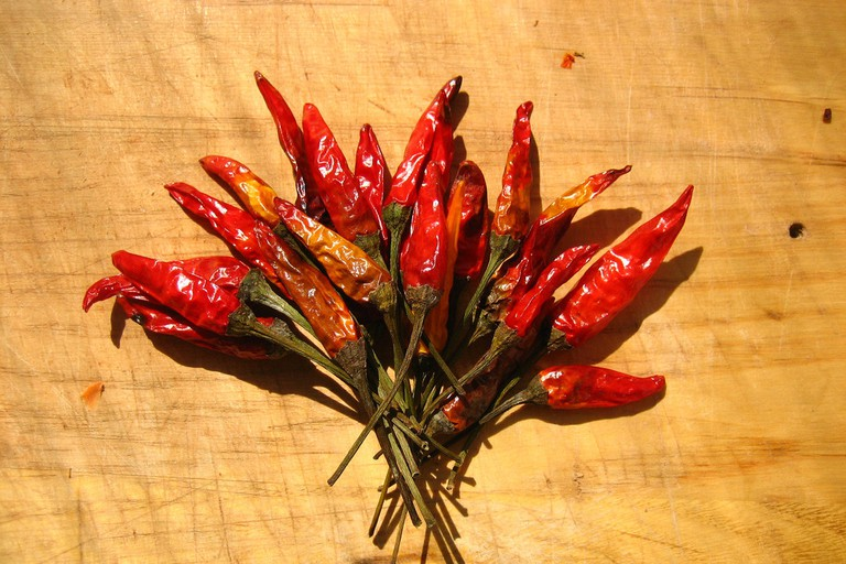 Bouquet of Dried Chili Peppers
